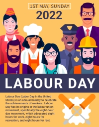 Labour day,labor day,event ใบปลิว (US Letter) template