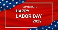 Labour day,labor day,president day Gedeelde afbeelding op Facebook template
