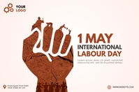 Labour Day Banner template