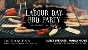 Labour Day BBQ Party Video Ad
