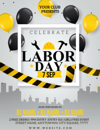 LABOUR DAY CELEBRATION EVENT FLYER Template