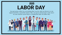 Labour day Blogkop template