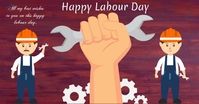 Labour Day Facebook-annonce template