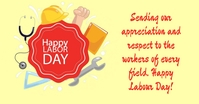 Labour Day Facebook Ad template