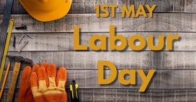 Labour day Gedeelde afbeelding op Facebook template