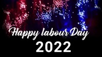Labour day,labor day,1st may Affichage numérique (16:9) template