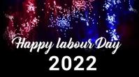 Labour day,labor day,1st may Affichage numérique (16:9) template