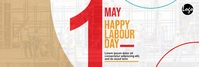 Labour day linkedin banner template