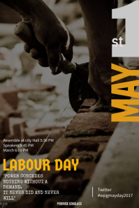 Labour Day Poster Template
