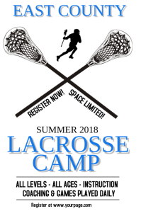 Lacrosse Camp Template