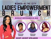 Ladies Empowerment brunch Flyer (US Letter) template
