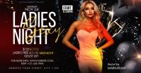 Ladies night club template Facebook-advertentie