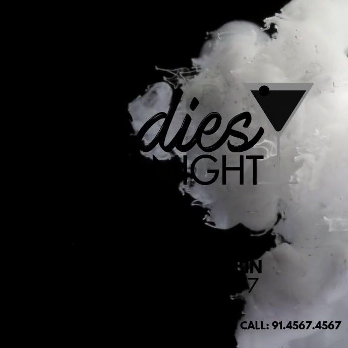 LADIES NIGHT Square (1:1) template