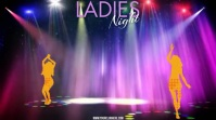 LADIES NIGHT Digitalt display (16:9) template