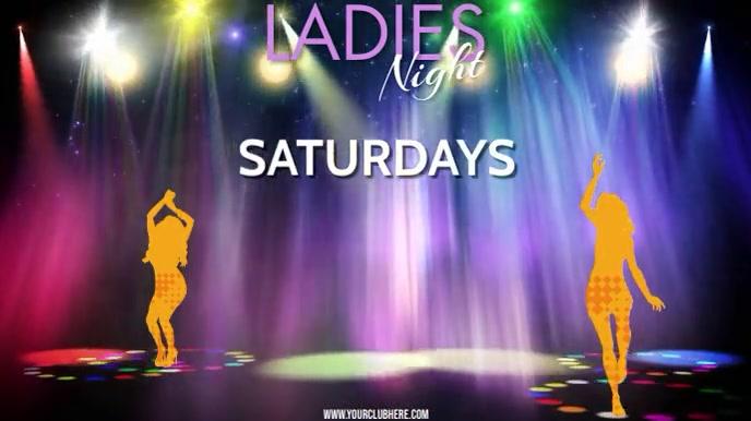 LADIES NIGHT Digitale Vertoning (16:9) template