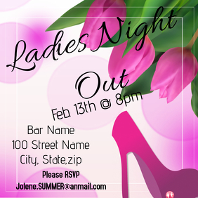 Ladies Night Out Twmplate
