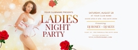 Ladies Night Party Facebook Cover template