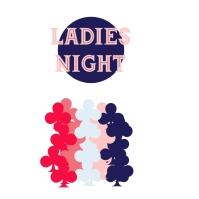 ladies night poster Capa de álbum template
