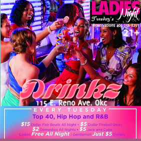 Ladies Night Tuesday's Prices
