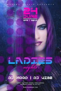 Ladies Nights Party Flyer