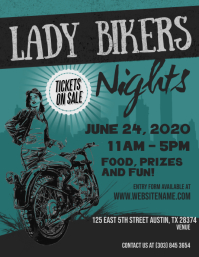 Lady Bikers Nights Flyer