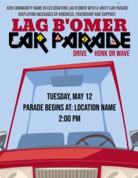 Lag B'Omer Car Parade
