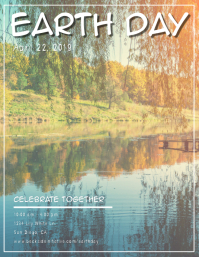 Lake Tree Earth Day Flyer