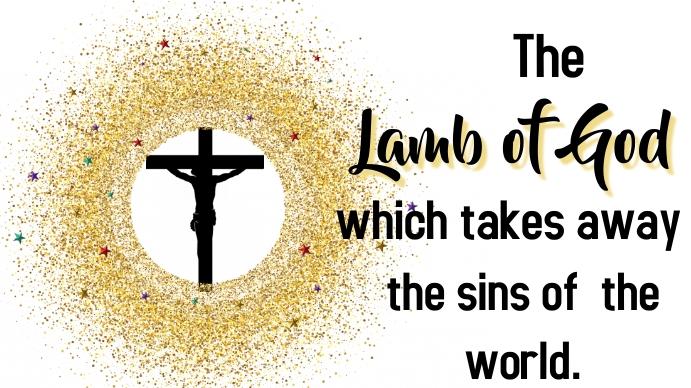 Lamb of God Miniatura di YouTube template