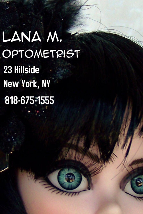 Lana business card