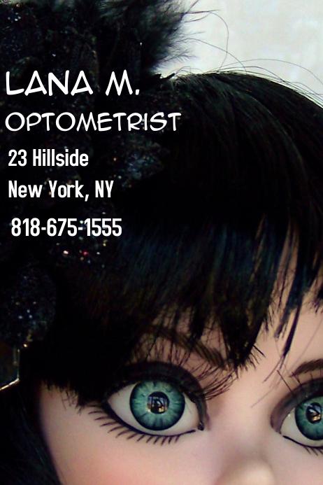 Lana business card