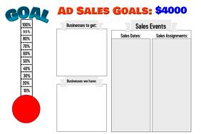 Landscape ad sales goal
