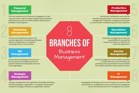 Landscape Branches of Management Concept Map