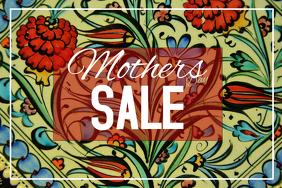 Landscape Mothers Day sale flyer template