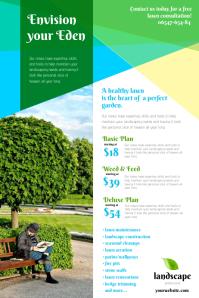Landscape service leaflet