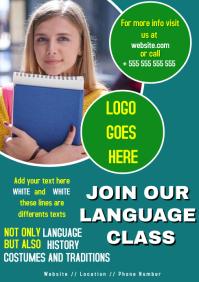 Language class flyer