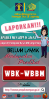 Laporkan! Rolbanner 3' × 6' template