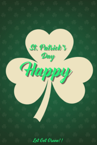 Large Leaf For St. Patrick's Day