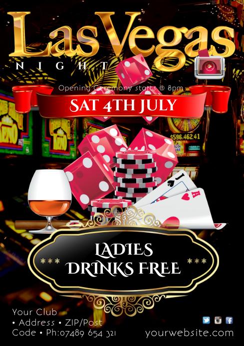 Las Vegas Night Poster