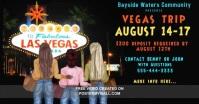 Las Vegas Trip Facebook Event Cover template
