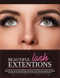 70+ Eyelash Extensions Customizable Design Templates | PosterMyWall