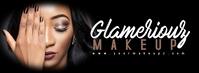 Lash Makeup Artist Beauty Banner Facebook-coverfoto template