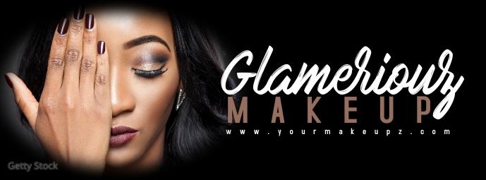 Lash Makeup Artist Beauty Banner รูปภาพหน้าปก Facebook template
