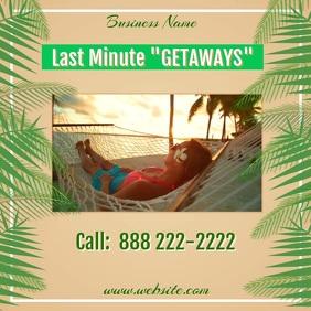 Last Minute Getaways Video