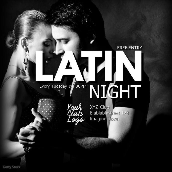 Latin Bachata Kizomba Salsa Urban Night Party