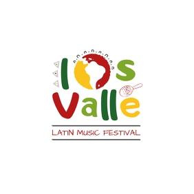 Latin Festival Logo Logotipo template