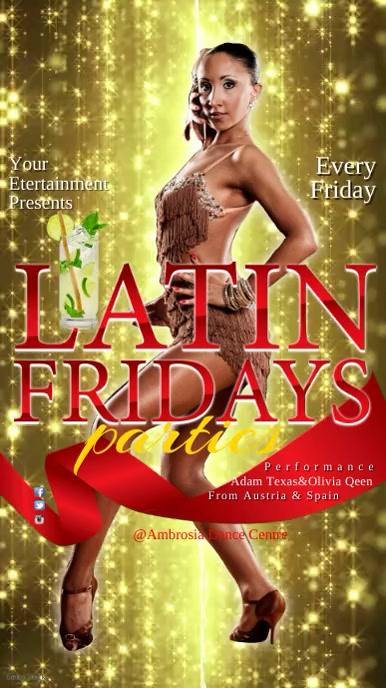Latin Fridays Instagram Template