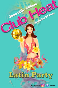 Latin Nights/Club/Latin Party/Summer