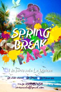 Spring Break Template