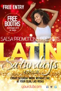 Latin Saturdays Poster