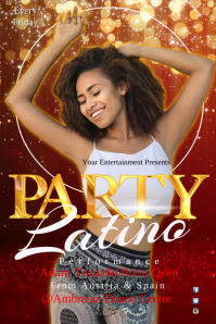 Latino Party Template